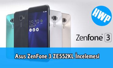 Asus ZenFone 3 ZE552KL İncelemesi
