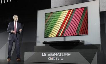 LG'nin Tanıttığı Yeni 4K OLED TV İnanılmaz Derecede İnce