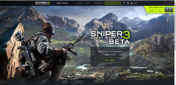 Sniper: Ghost Warrior 3 için açık beta kayıtları başladı. Oyunun internet adresinden betaya kayıt olabilirsiniz.