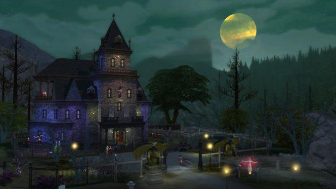 """Sims 4 için getirilen vampir temalı ek pakette, """"Forgotten Hollow"""" isimli yeni bir dünya olacak."""