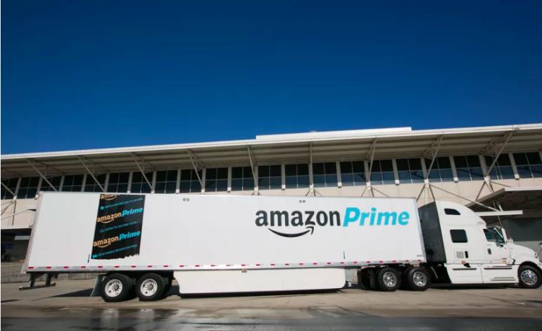 Amazon Sürücüsüz Araçlar için Özel Bir Patent Aldı