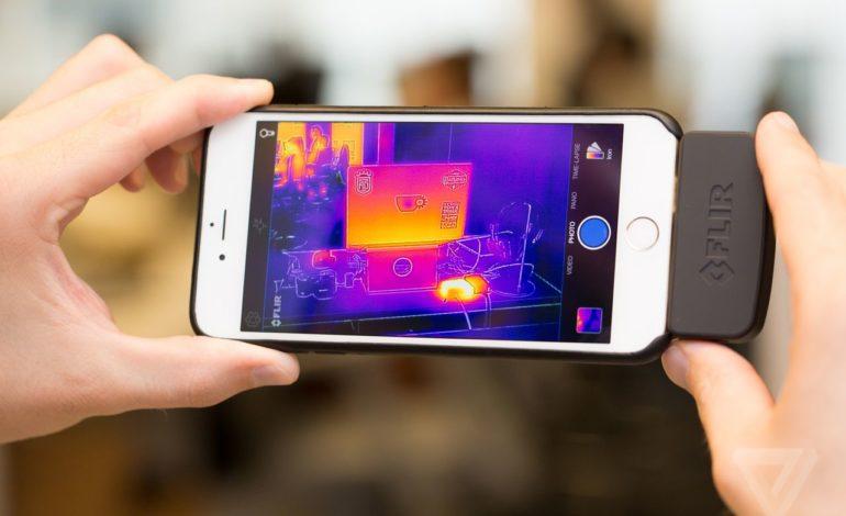 Flir Akıllı Telefonlar için Termal Kamerası Flir One'ıTanıttı