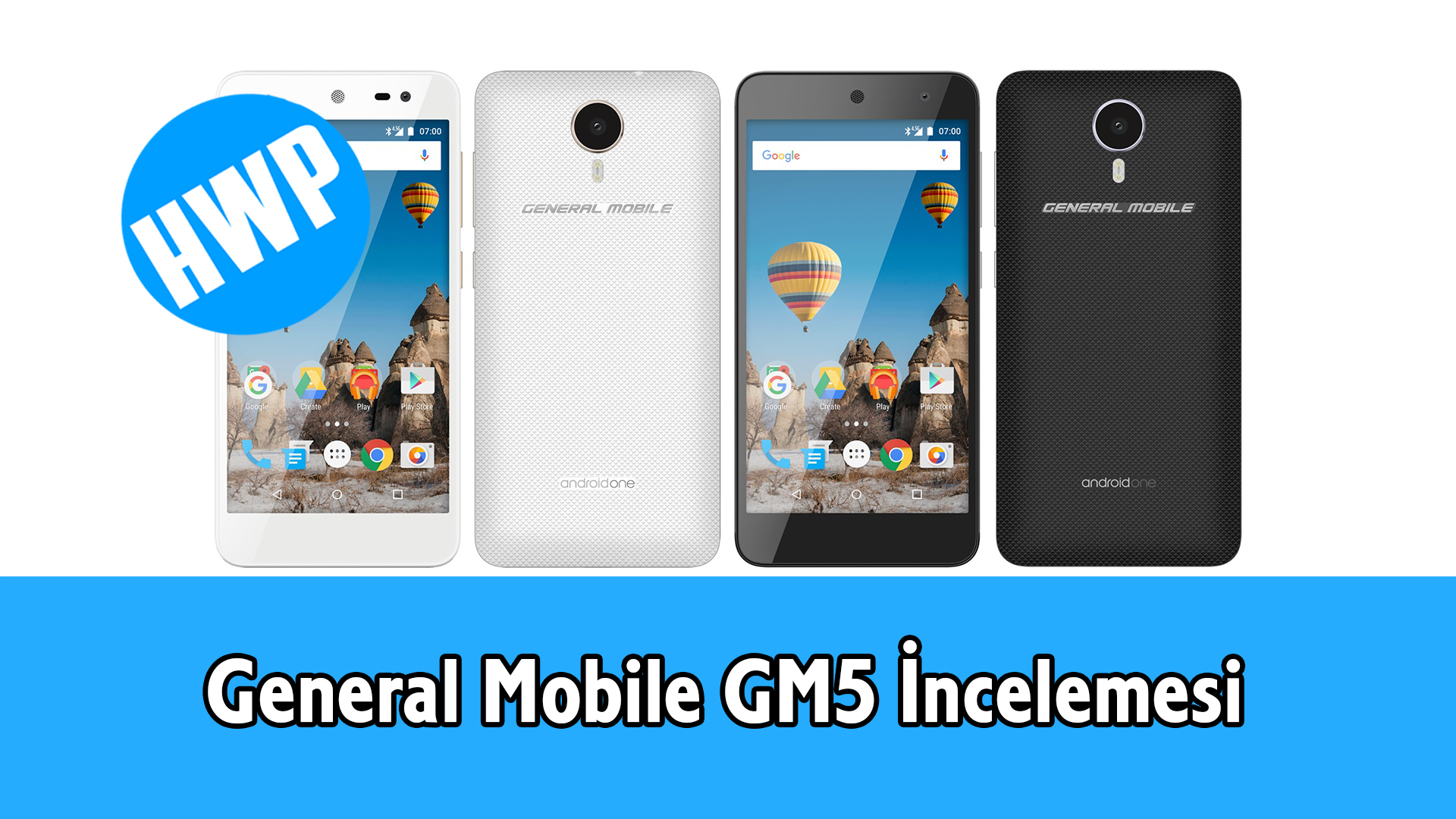 General Mobile GM5 İnceleme Video Android One 7.0 Nougat