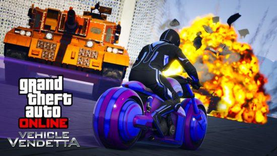 GTA Online'a gelen güncelleme Vehicle Vendetta adında yeni bir mod sunuyor.