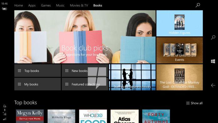 Microsoft, Creators Update ile Windows 10'a Kitap Getiriyor