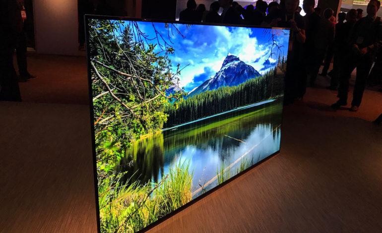 Sony'nin Yeni OLED TV'si LG Panel Kullanıyor