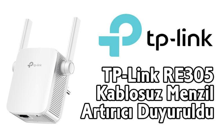 TP-Link RE305 ile Menzil Sorununuz Kalmasın