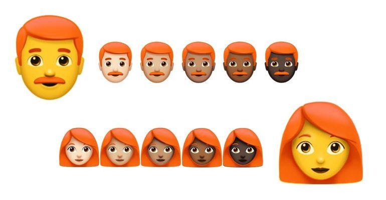 Unicode Komitesi Kızıl Saçlı Emojiler için Bir Araya Geliyor