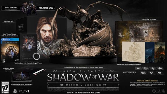 Shadow of War'ın 300 Dolarlık paketinde resmen yok yok!