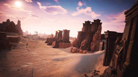 Conan Exiles, Steam üzerinde erken erişim sürümü ile test edilebilen bir oyun konumunda.