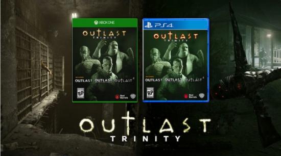 Trinity Pack; ilk oyunu, ilk oyunun tüm ek paketlerini ve Outlast 2'nin kendisini barındıracak.