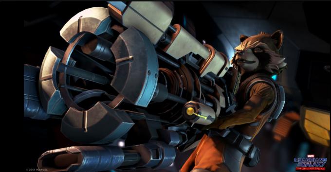 Rocket karakterini ise Uncharted, Assassin's Creed, Batman ve daha birçok yapımdan tanıdığımız Nolan North seslendirecek.