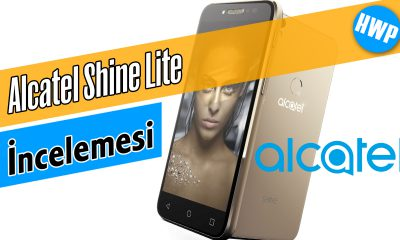 alcatel shine lite inceleme akıllı telefon