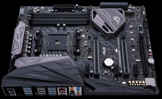 ASUS ROG CROSSHAIR VI HERO AM4 Ana kart motherboard