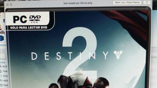 """""""PC DVD ROM"""" ifadesi ile artık, Destiny 2'nin PC platformuna da çıkacağına kesin gözüyle bakabiliriz."""""""