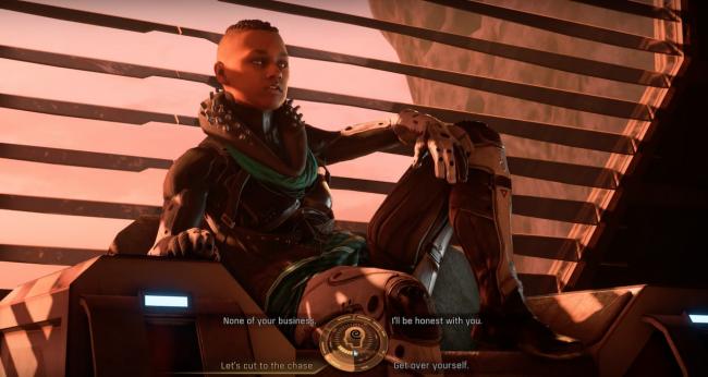 Mass Effect: Andromeda; barındıracağı 1200 sayısını aşkın diyalog sayısı ile oldukça geniş yelpazeli bir diyalog sistemi sunacak.