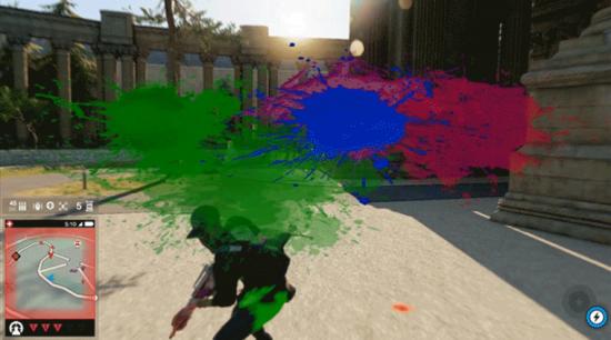 """""""Boya tabancalarının da ekleneceği oyunda artık ekranınız bir PvP maç yaparken boya ile kaplı olabilecek."""""""
