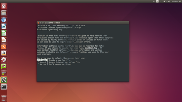 How to recover data from hard disk in ubuntu