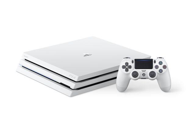 Beyaz PlayStation 4 Pro Modelinin Ön Siparişleri Başladı