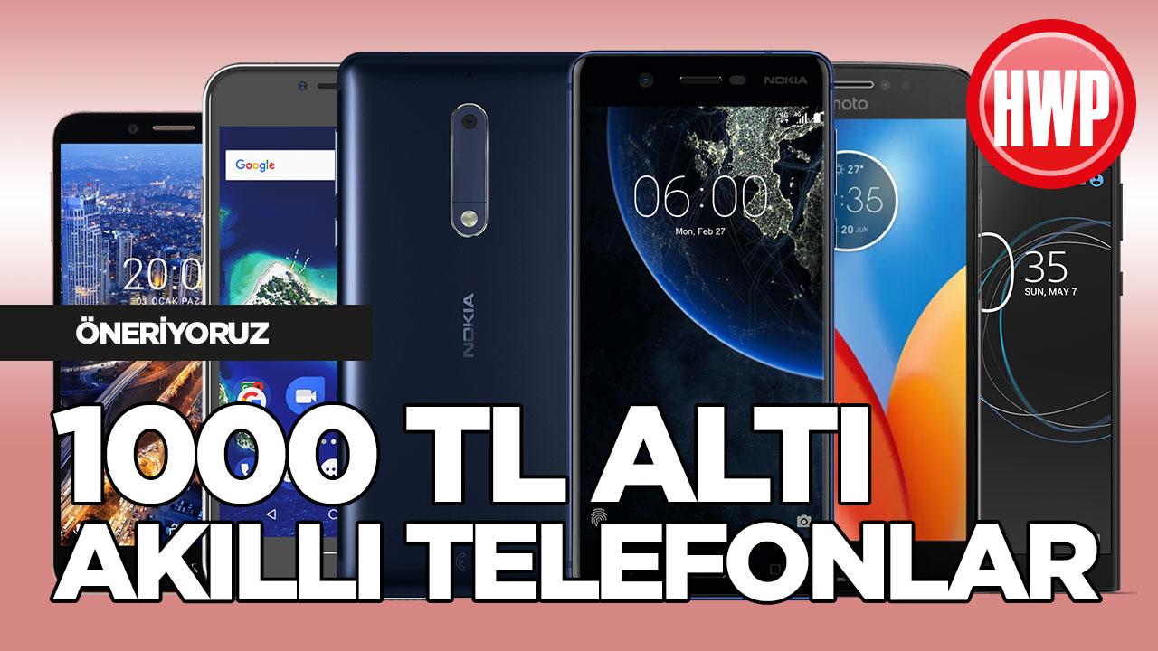 1000 TL'den Daha Ucuz Telefon Modelleri (Şubat 2018)