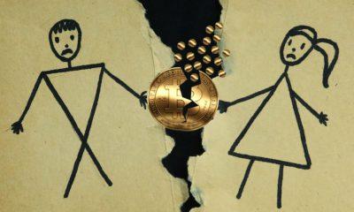 Boşanan çiftin Bitcoin davası
