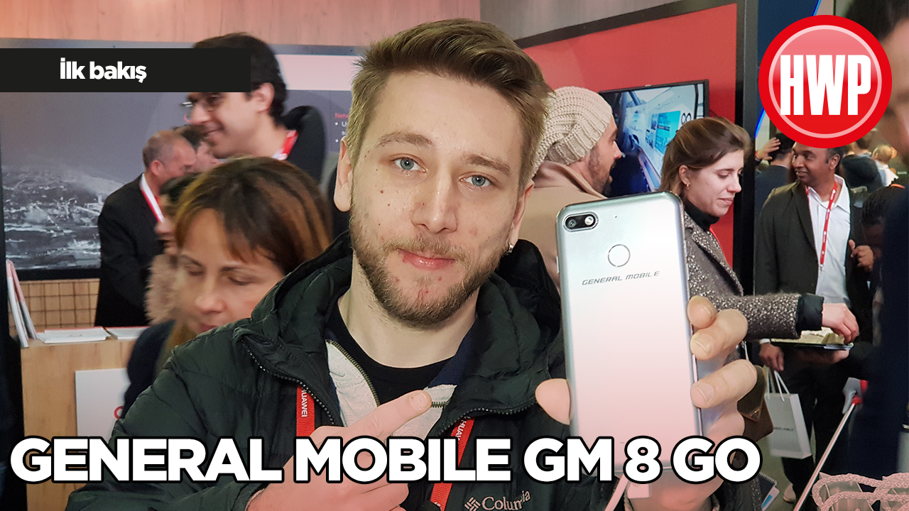 General Mobile GM 8 Go