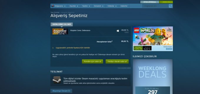 Steam KDV