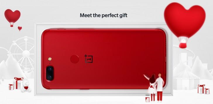 OnePlus 5T'nin Lava Red Modeli Avrupa Satışına Başladı