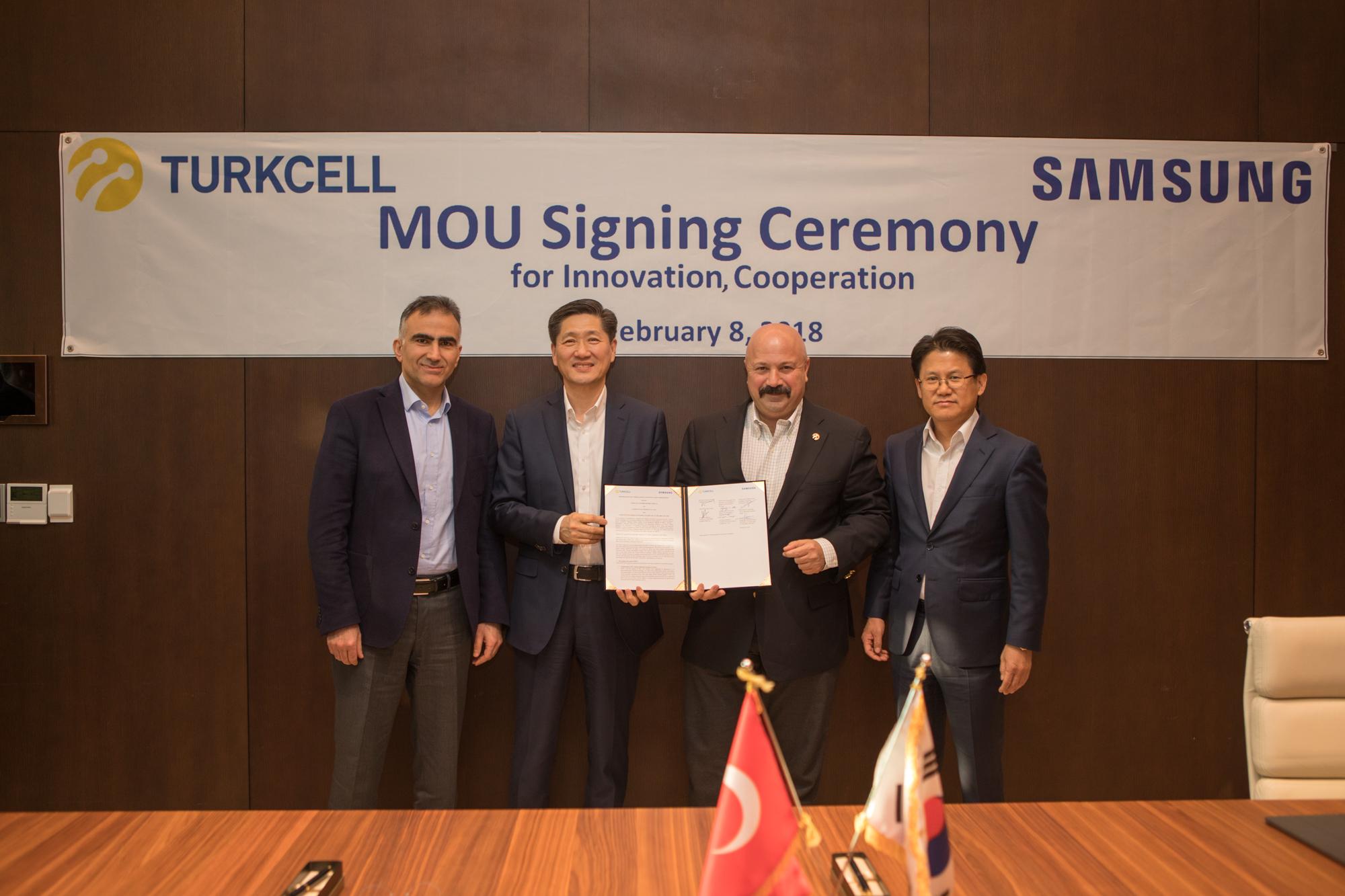 Turkcell ve Samsung