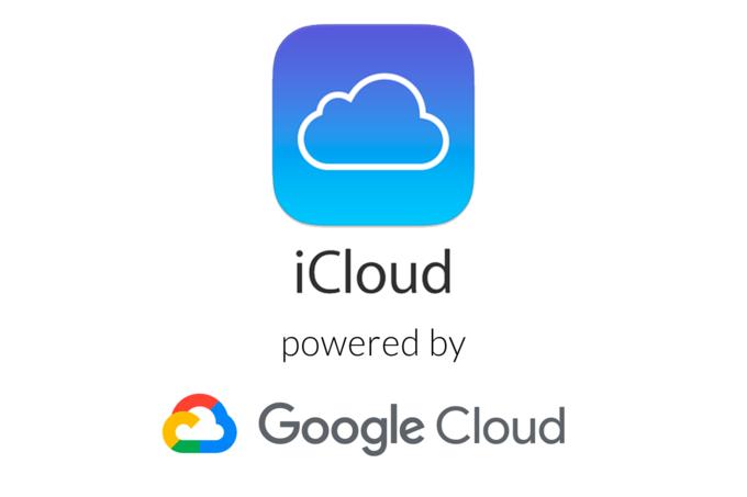 iCloud veri tabanı Google sunucularındaymış