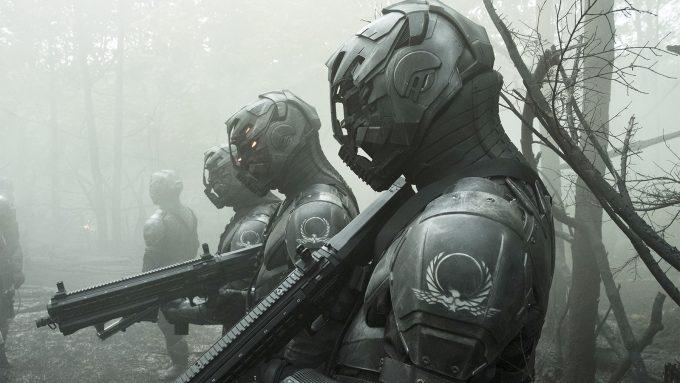 Dünyanın sahibi Birleşmiş Milletler'e ait elit askerler. Altered Carbon