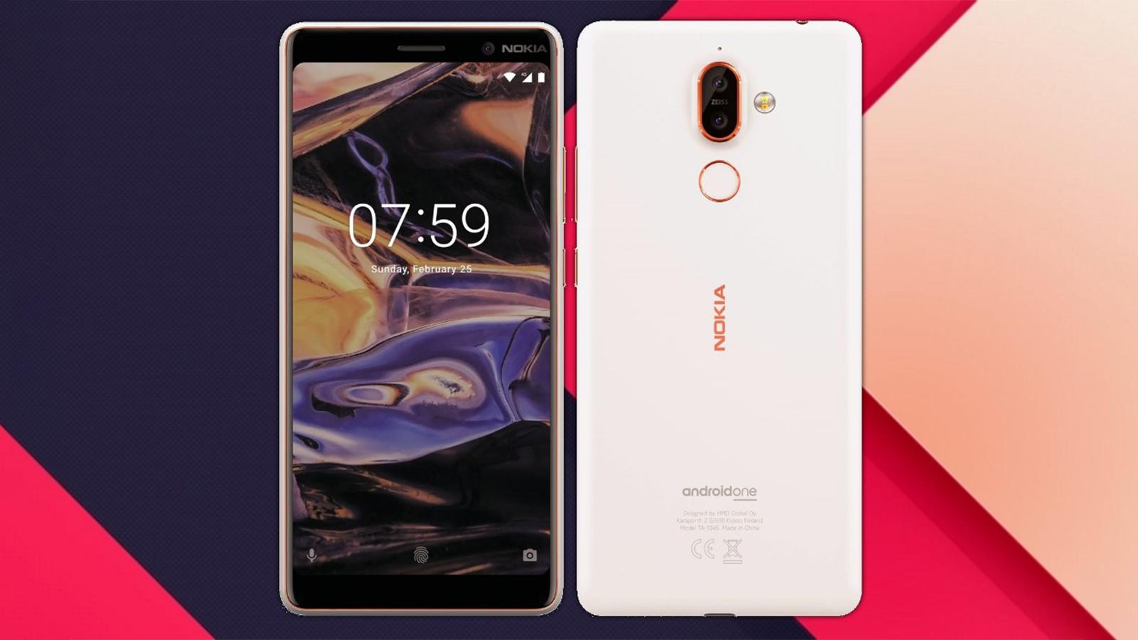 Nokia 7 Plus Press