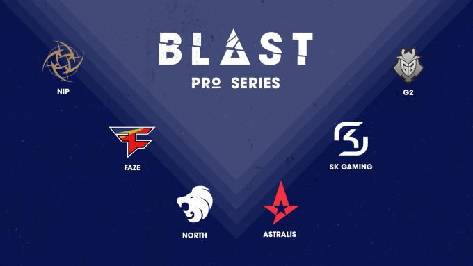 Blast Pro Series Takımları