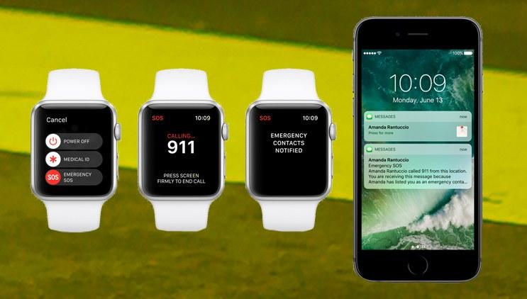 Apple Watch kullanıcısı yanlışlıkla acil durum özelliğini aktif etti