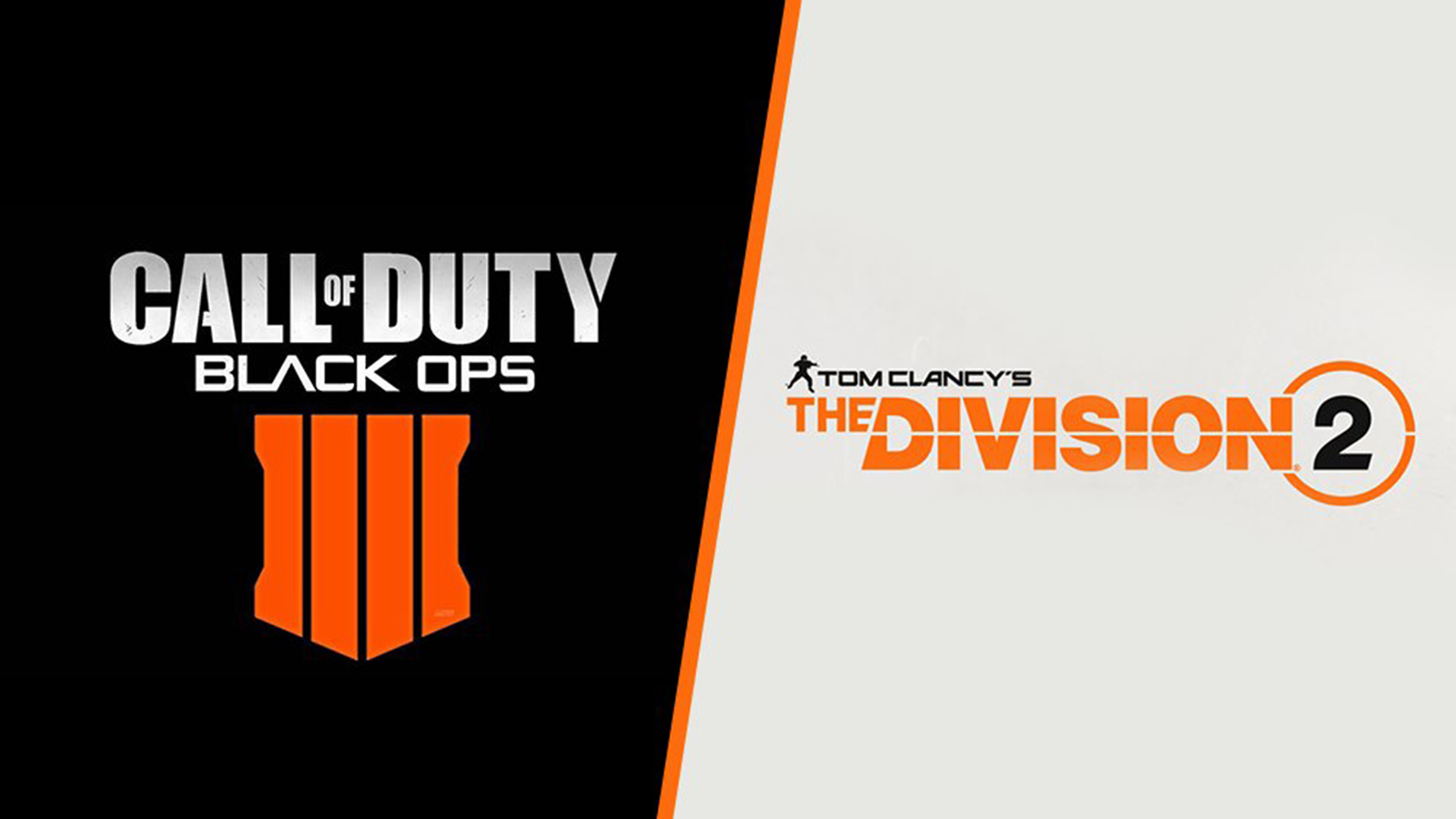 Call of Duty Black Ops 4, The Division 2