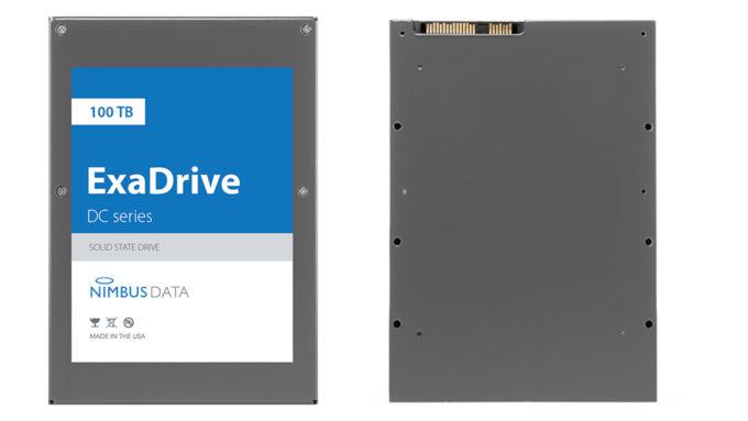 Nimbus Data ExaDrive DC100 - 100 TB SSD
