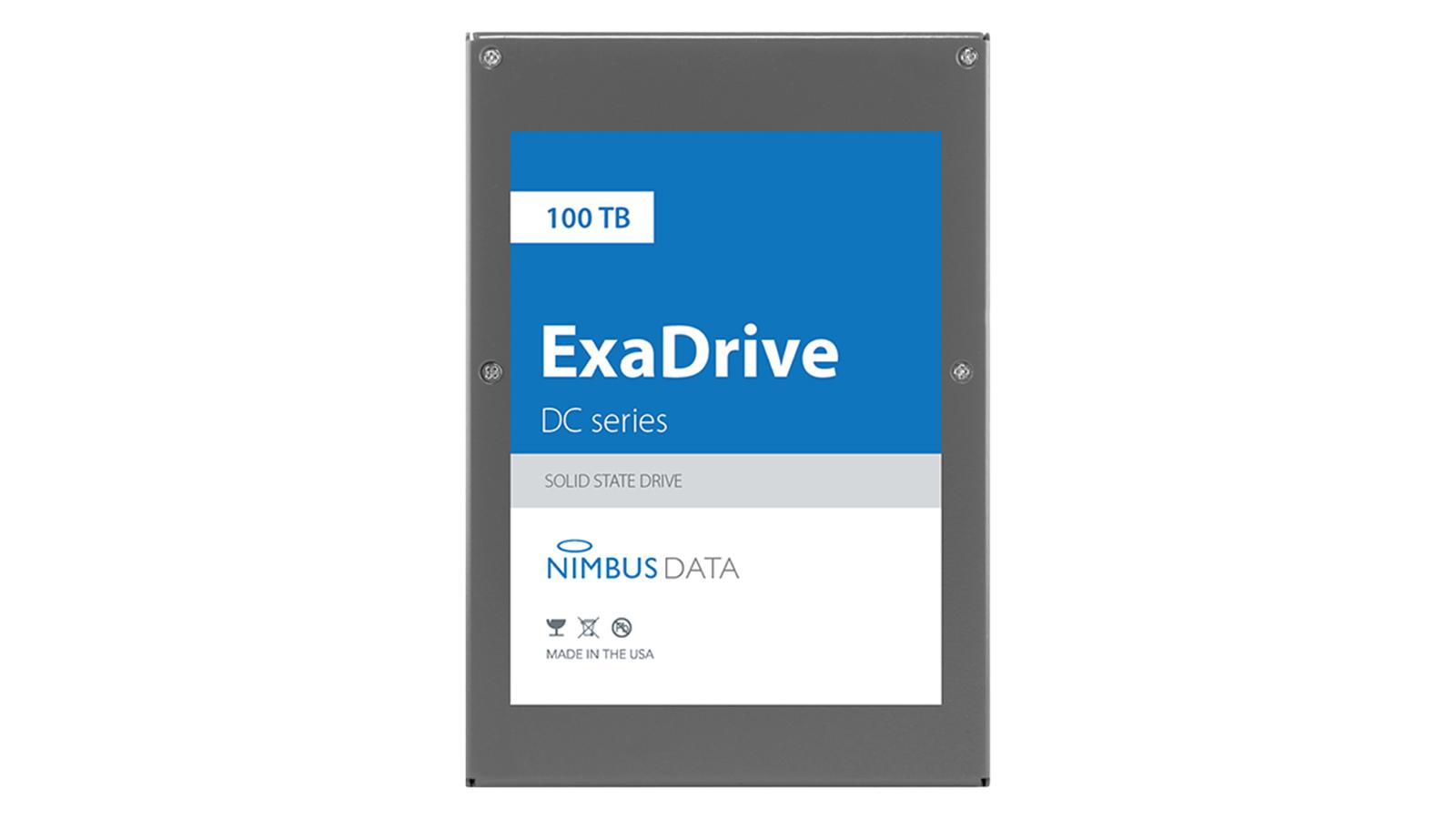 Nimbus Data ExaDrive DC100 SSD