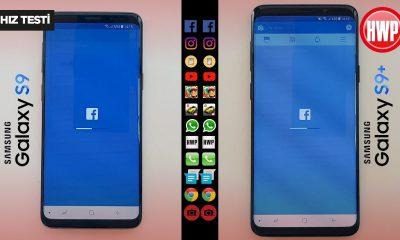 Hız Testi   Samsung Galaxy S9 - Samsung Galaxy S9+