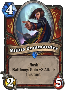 hearthstone witchwood militia commander