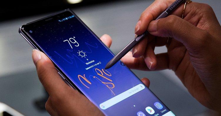 Samsung Galaxy Note 9 ilk videosu sızdı
