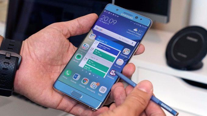 Galaxy Note 7 Fan Edition için Android Oreo