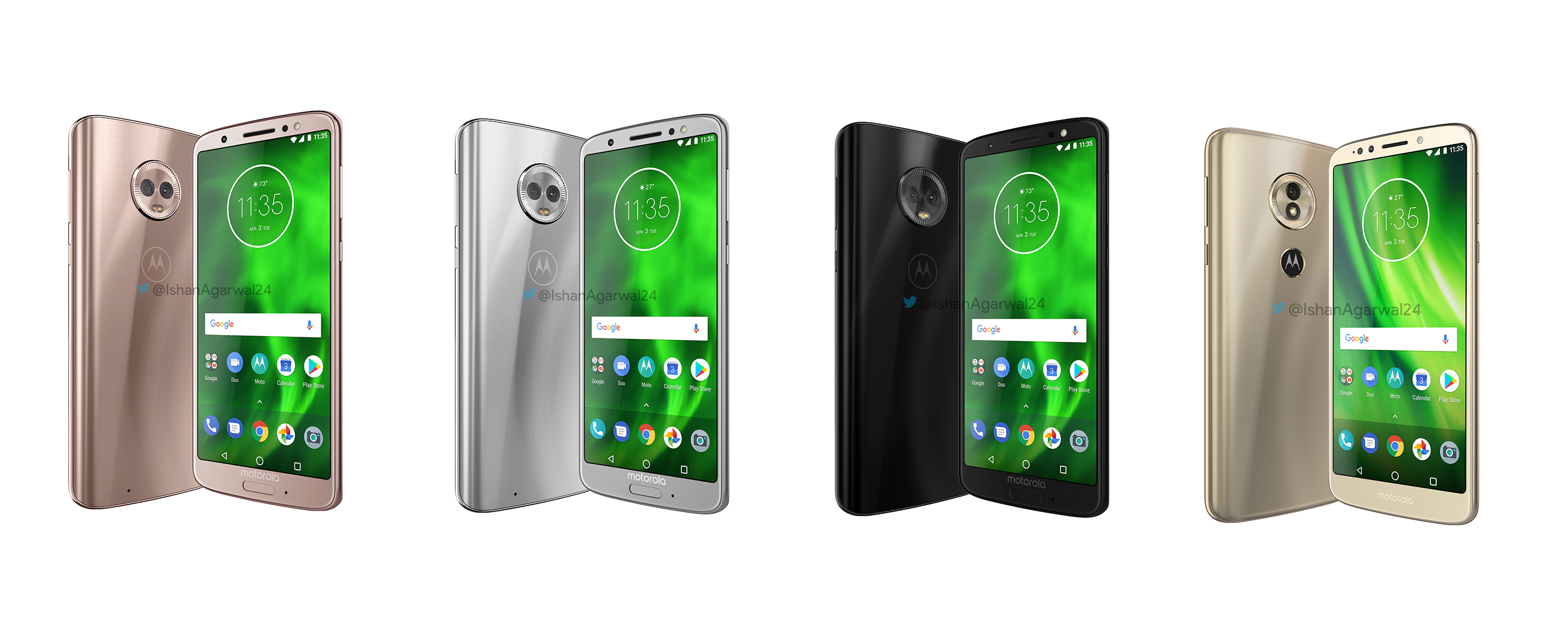 Motorola Moto G6 ve Moto E5