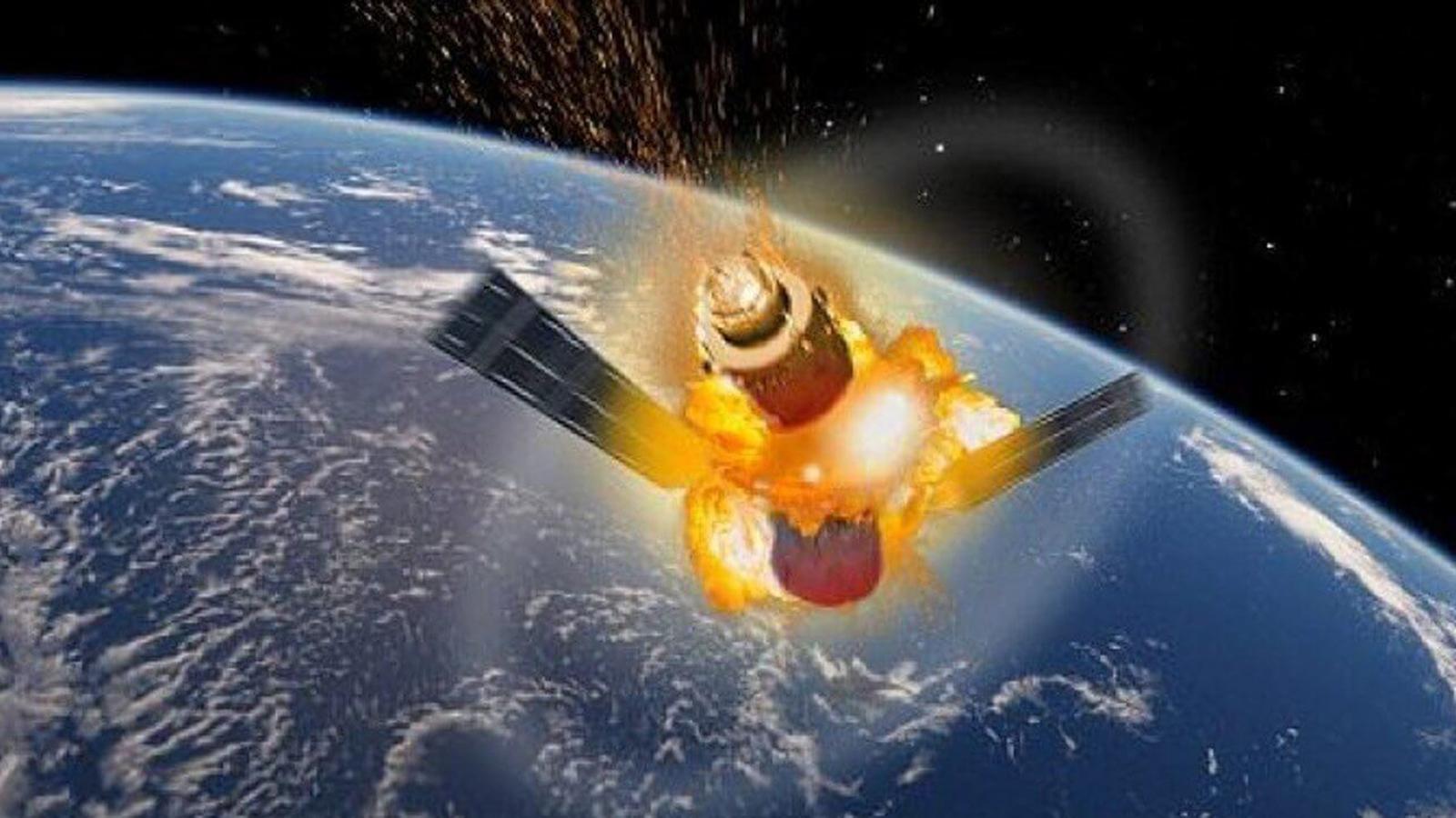 Tiangong-1 patlama