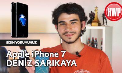 iPhone 7 Kullanıcı Deneyimi - Deniz Sarıkaya