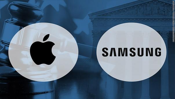 Apple, Samsung patent davasını kazandı: 539 milyon dolar!