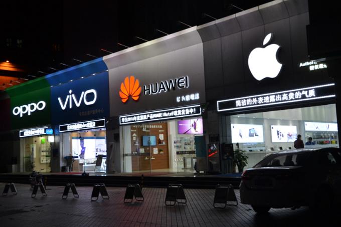 Çinli akıllı telefon sevkiyatında büyük düşüş
