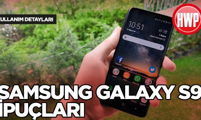 Samsung Galaxy S9 Kullanım
