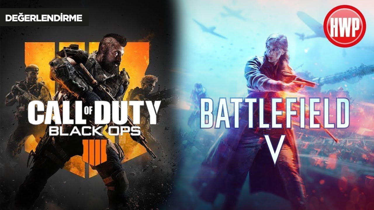Battlefield V vs Black Ops 4