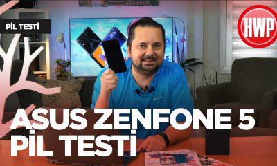 ASUS ZenFone 5 pil testi
