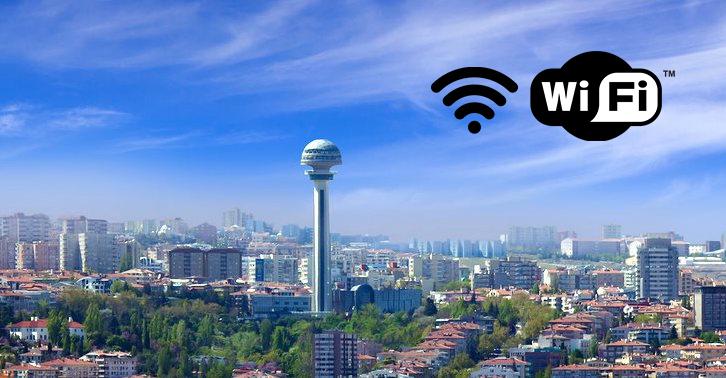 Ankara için ücretsiz Wi-Fi müjdesi